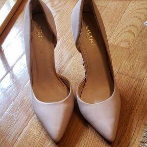 Liliana blush pink heels